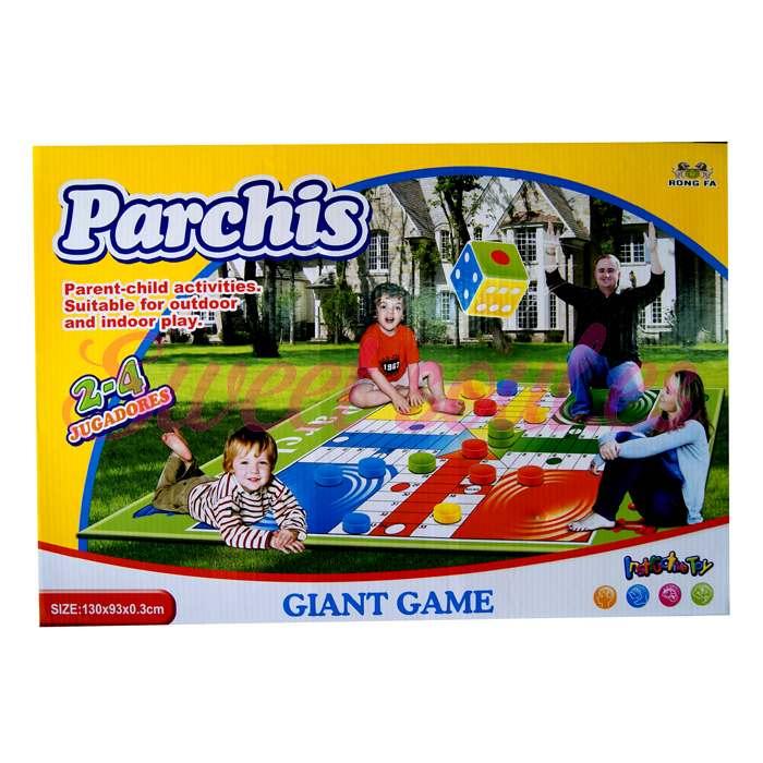 PARCHIS GIGANTE, 130x93cm