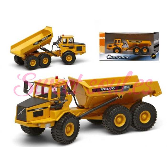 CAMION METAL VOLVO A25C 1:50, 19cm