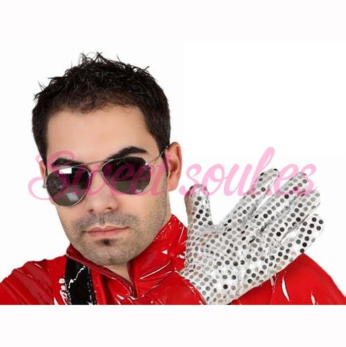 GUANTE Y GAFAS REY DEL POP