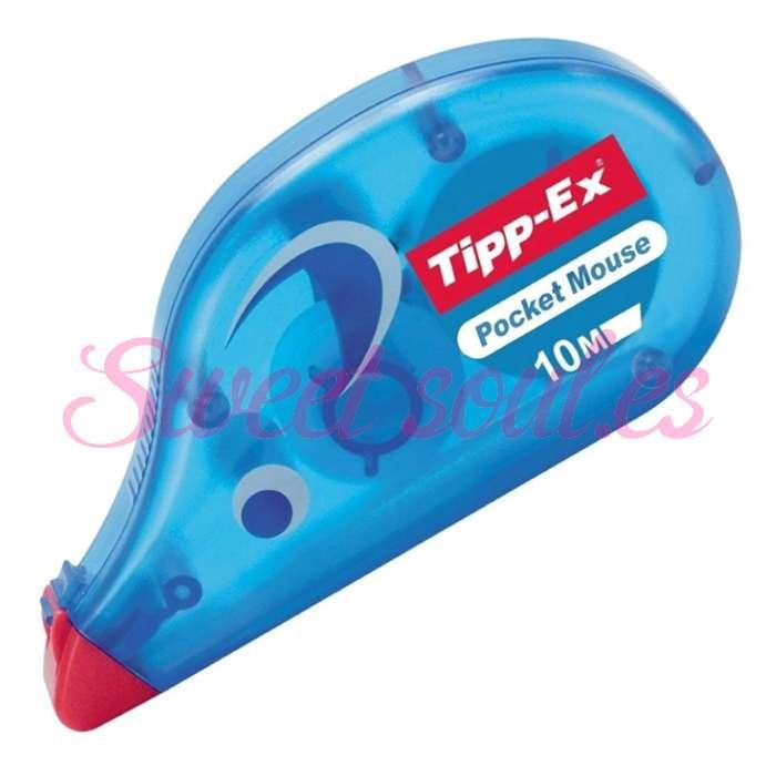CORRECTOR BIC POCKET MOUSE TIPP-EX, 10 METROS