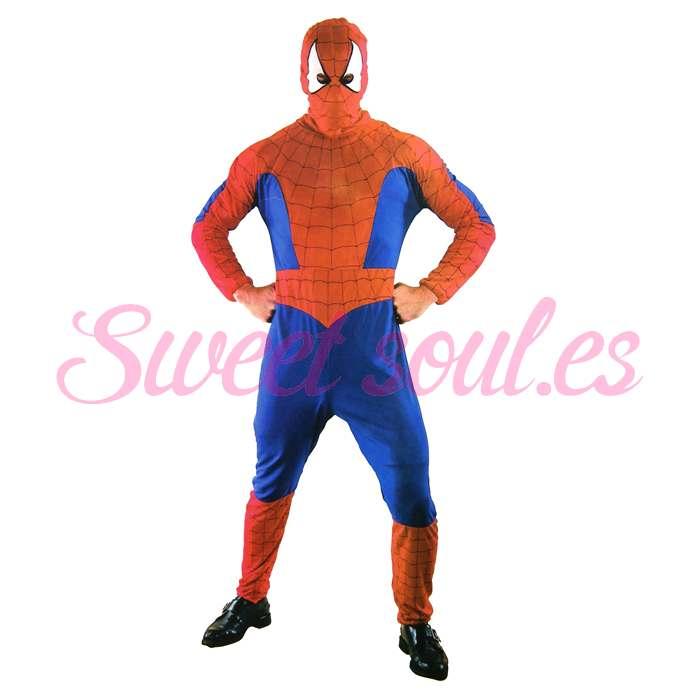 SPIDER HERO, TALLA UNICA (T-4)