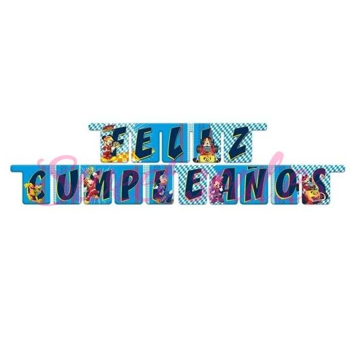 GUIRNALDA FELIZ CUMPLEAÑOS MICKEY SUPERPILOTOS