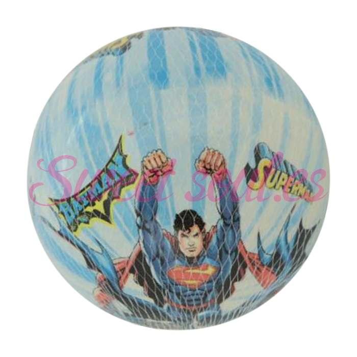 PELOTA 15cm BATMAN Y SUPERMAN