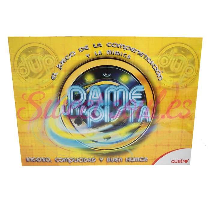 """""""DAME UNA PISTA"""" (CUATRO TV)"""