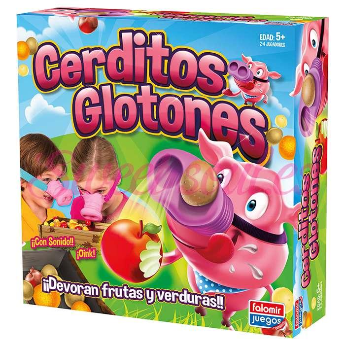 CERDITOS GLOTONES