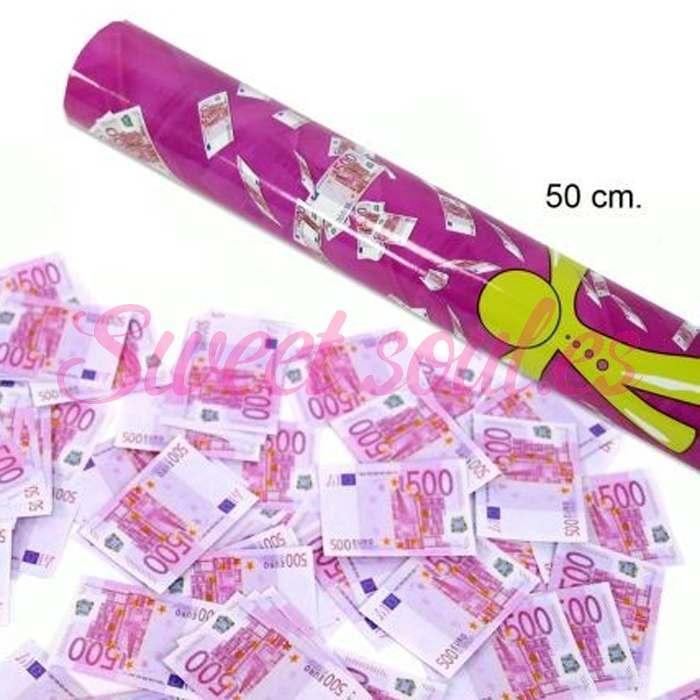 CAÑON DE EUROS, 50cm