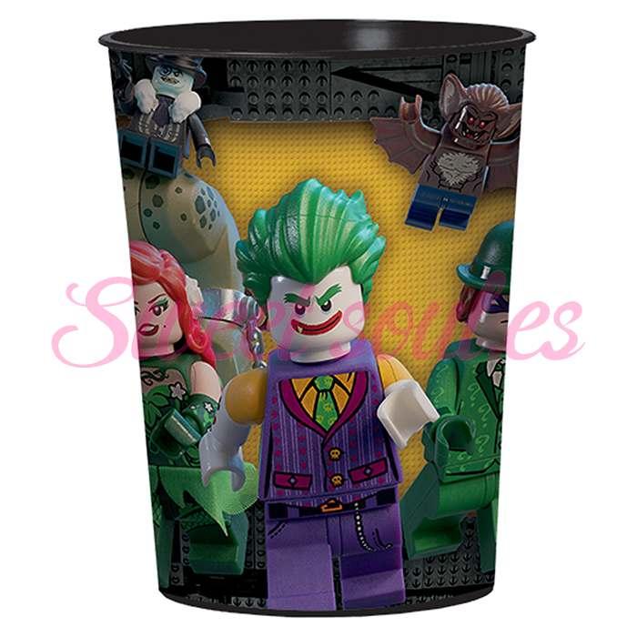 VASO PLASTICO LEGO BATMAN
