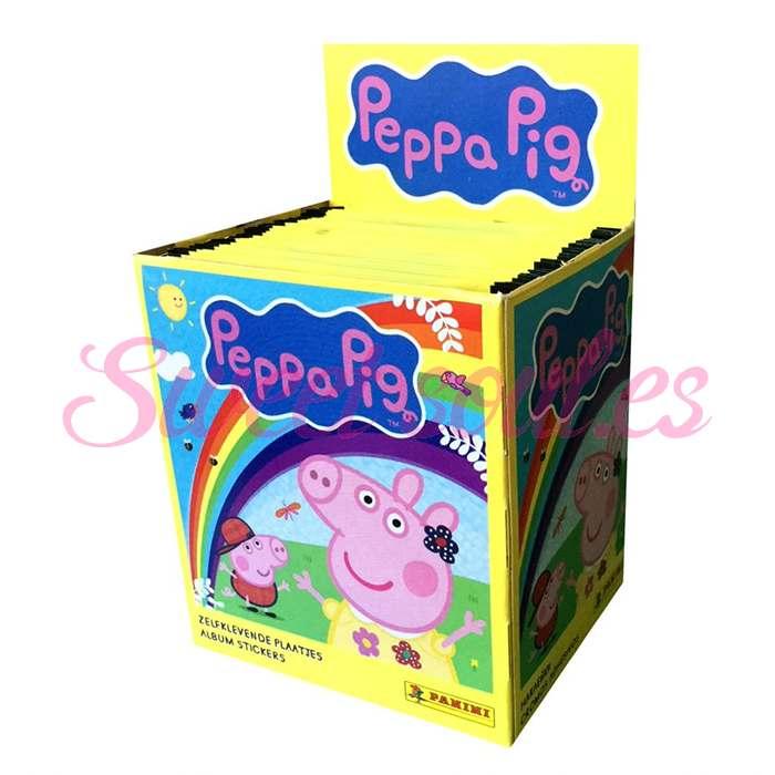 CROMOS PEPPA PIG, 50UNDS