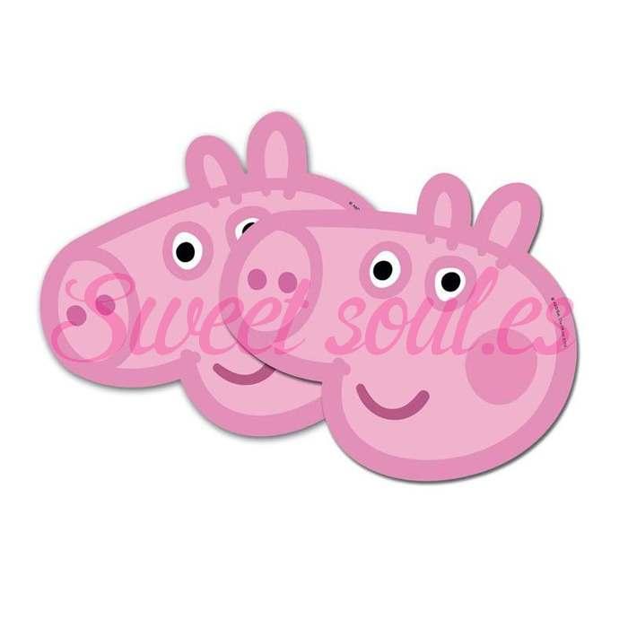 CARETA PEPPA PIG, 6 UNDS