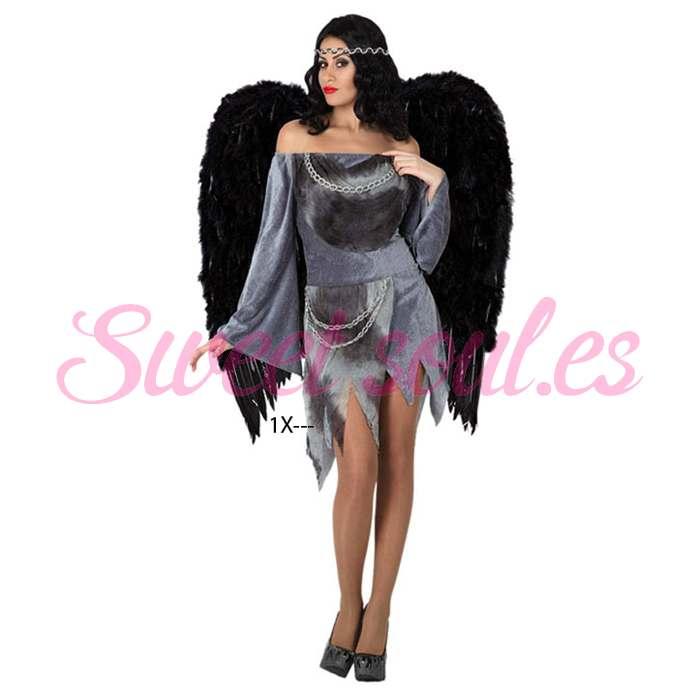 DISFRAZ DE ANGEL SEXY, TALLA 2