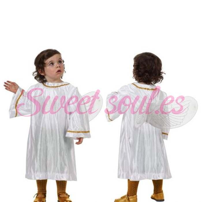 DISFRAZ DE ANGEL, 12-24 MESES
