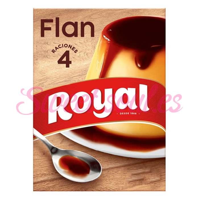 FLAN ROYAL 4 PORCIONES