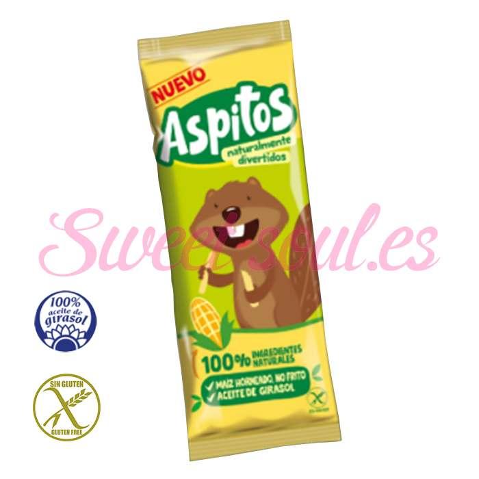 CAJA DE ASPITOS DE MAIZ NATURAL ASPIL, 75 UNDSx6g
