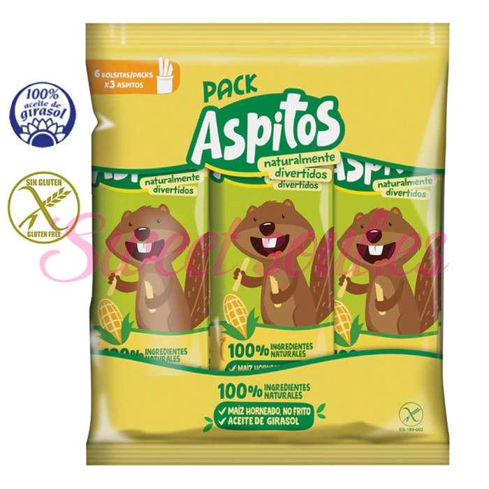 PACK ASPITOS, 6 UNDSx6g