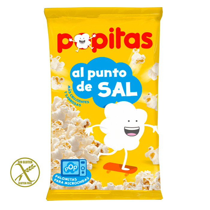 POPITAS PUNTO DE SAL 100g