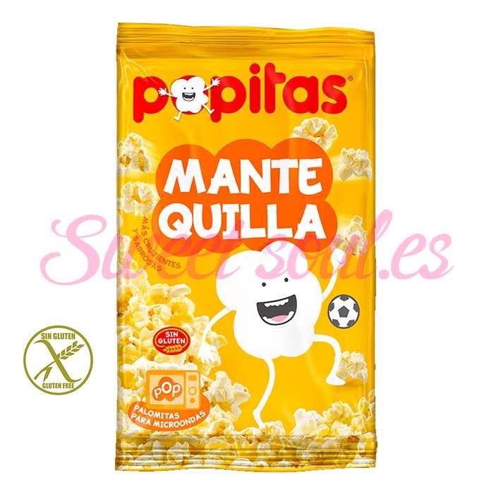 BOLSA DE POPITAS CON MANTEQUILLA, 100g