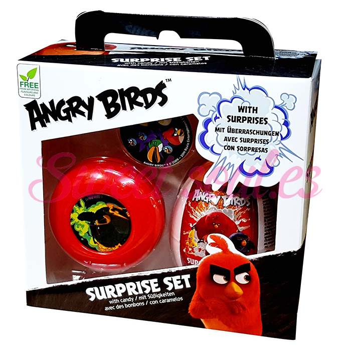 CANDY GIFT SET ANGRY BIRDS