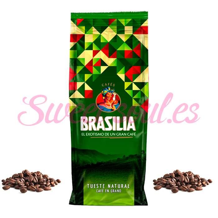BOLSA DE CAFE BRASILIA TUESTE NATURAL, 1kg