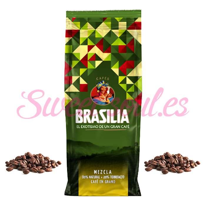 BOLSA DE CAFE MEZCLA BRASILIA 80N/20T, 1kg