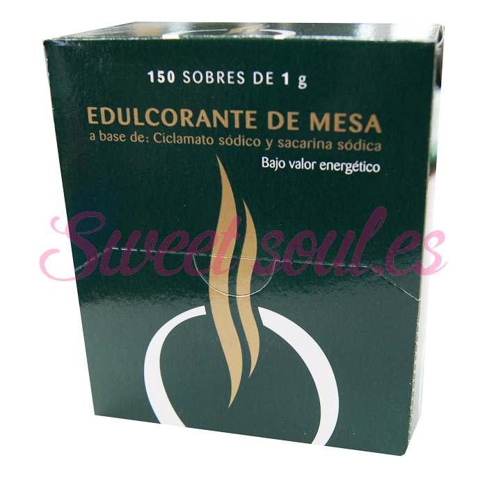 CAJA DE EDULCORANTE BRASILIA, 150 UNDS x 1g