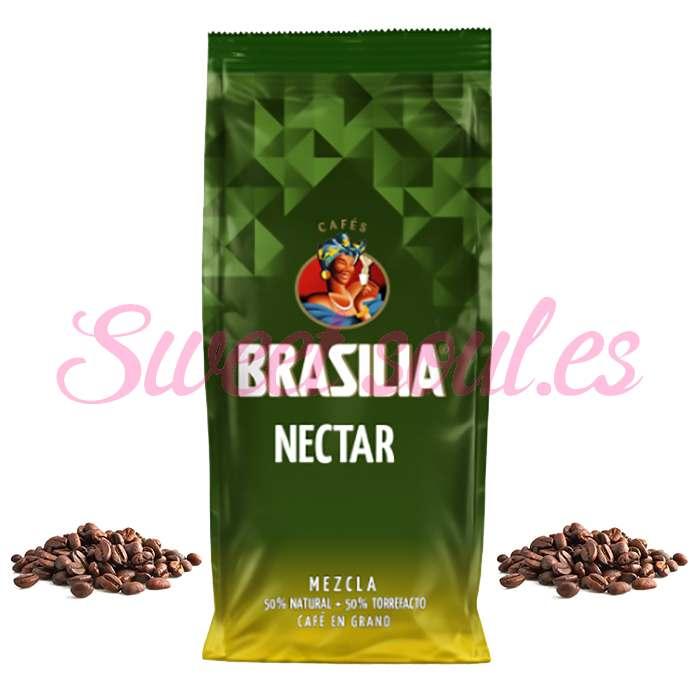 BOLSA DE CAFE NECTAR MEZCLA BRASILIA 50N/50T, 1kg