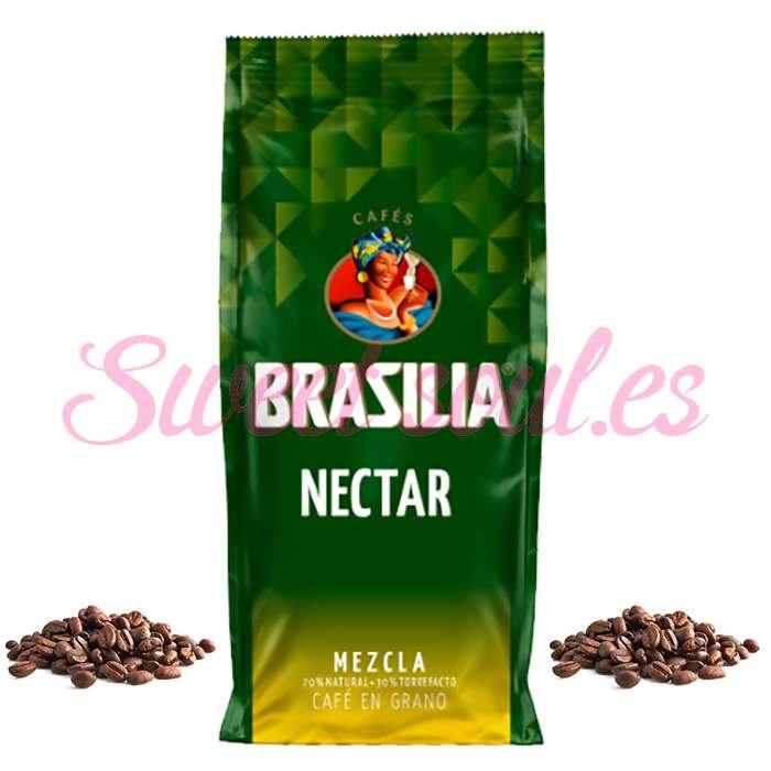 BOLSA DE CAFE NECTAR MEZCLA BRASILIA  70N/30N, 1kg