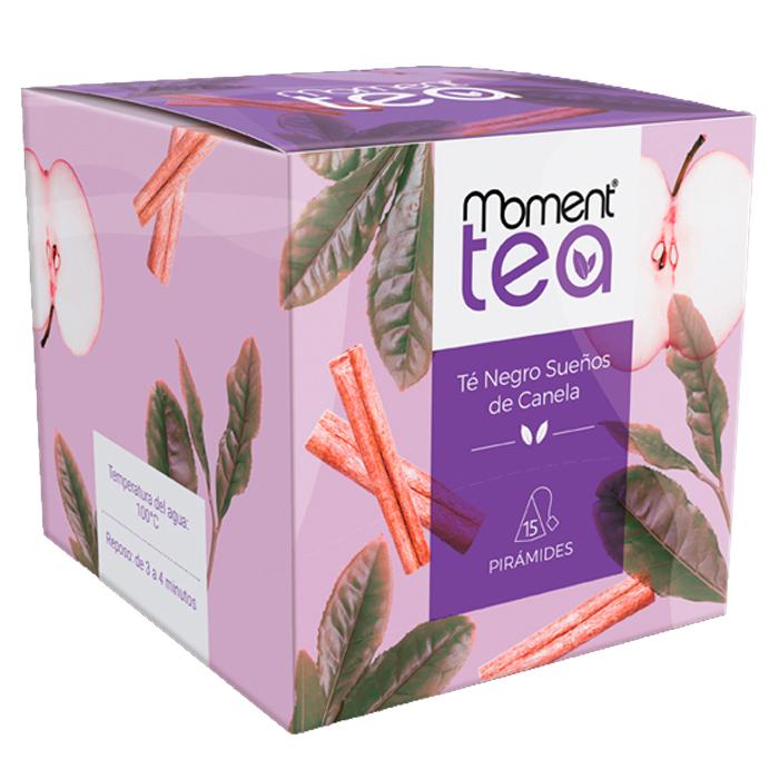 CAJA TE NEGRO, MOMENT TEA, 15 PIRAMIDES