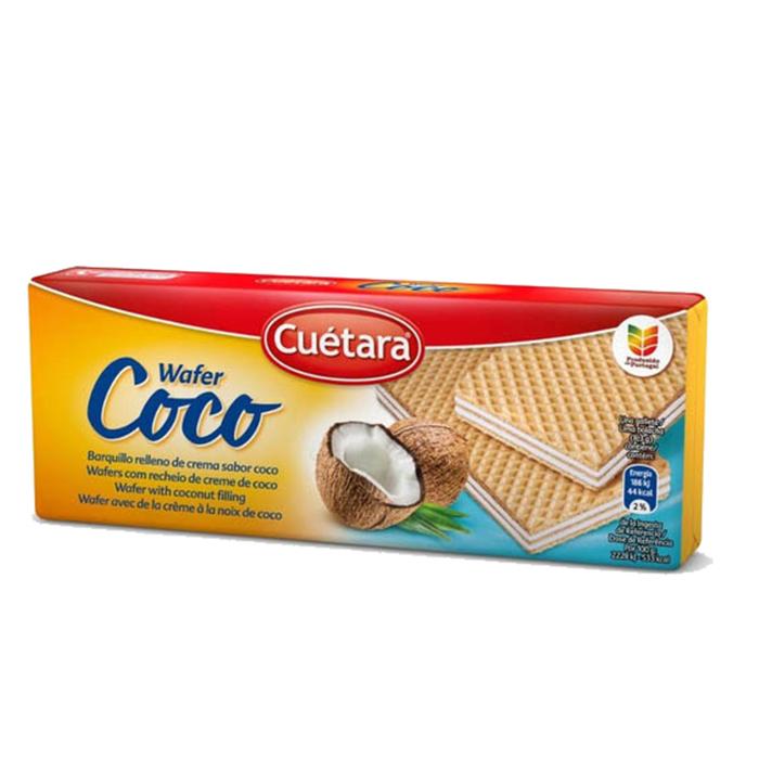 PAQUETE WAFER COCO CUETARA, 150g