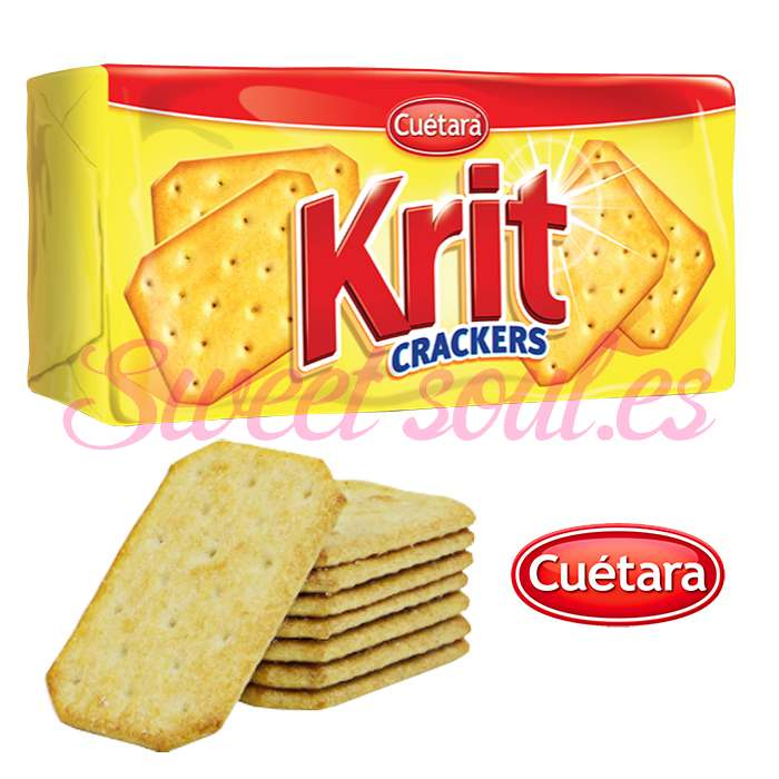 PAQUETE KRIT CRACKERS CUETARA, 100g