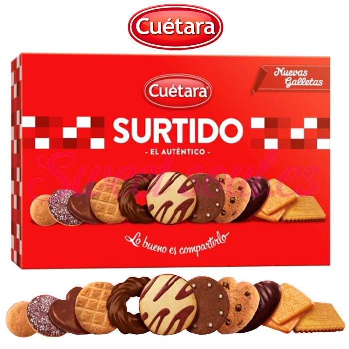 CAJA GALLETAS SURTIDO CUETARA, 210g