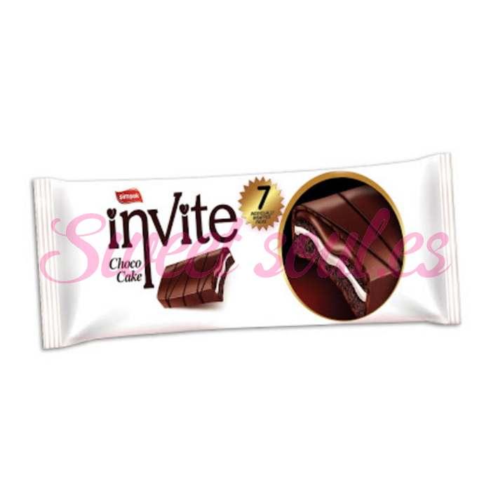 INVITE CHOCO CAKE 7UNDS