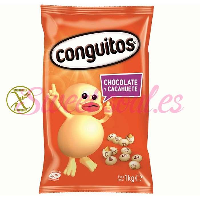 BOLSA DE CONGUITOS BLANCOS LACASA, 1kg