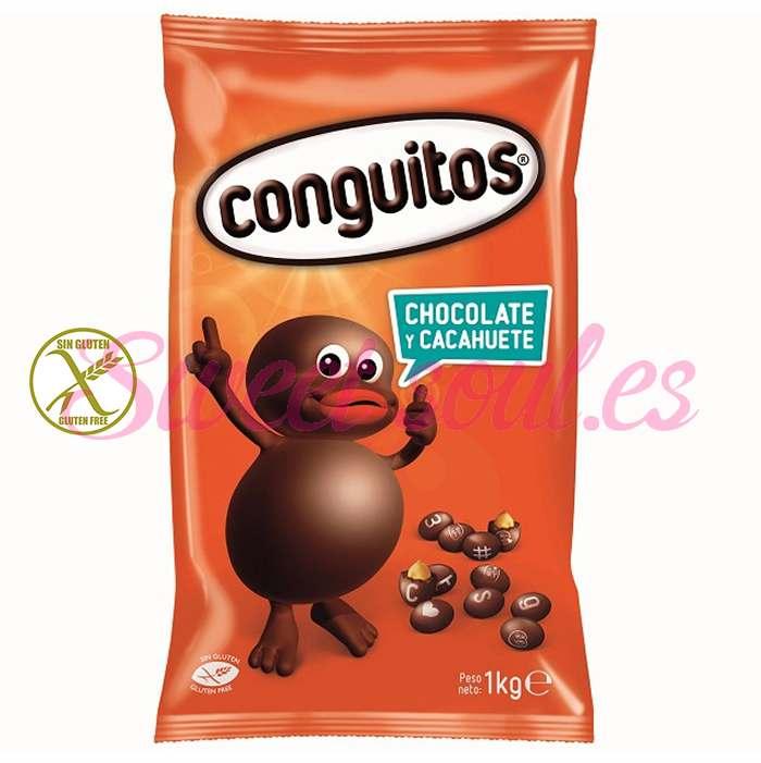 BOLSA DE CONGUITOS NEGROS LACASA, 1kg