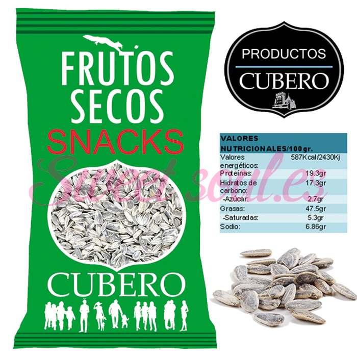 PIPAS DE GIRASOL SALADILLA CUBERO, 2kg