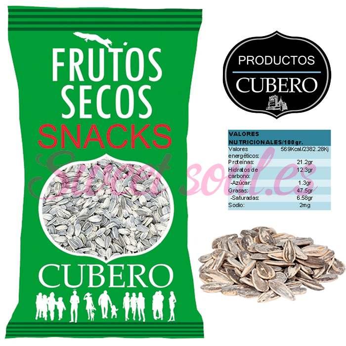 PIPAS GIRASOL TOSTADAS SELECCIONADAS CUBERO, 2kg