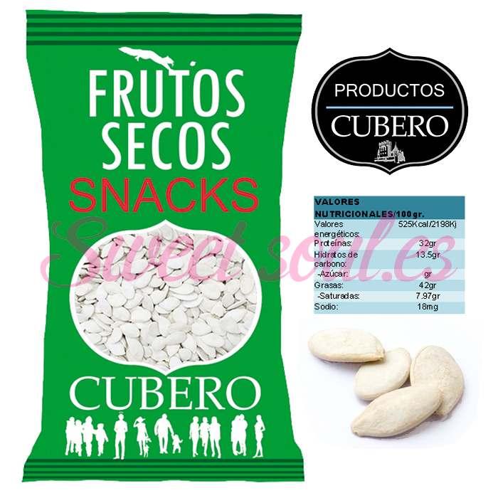 PIPAS DE CALABAZA TOSTADAS Y SALADAS CUBERO, 2kg