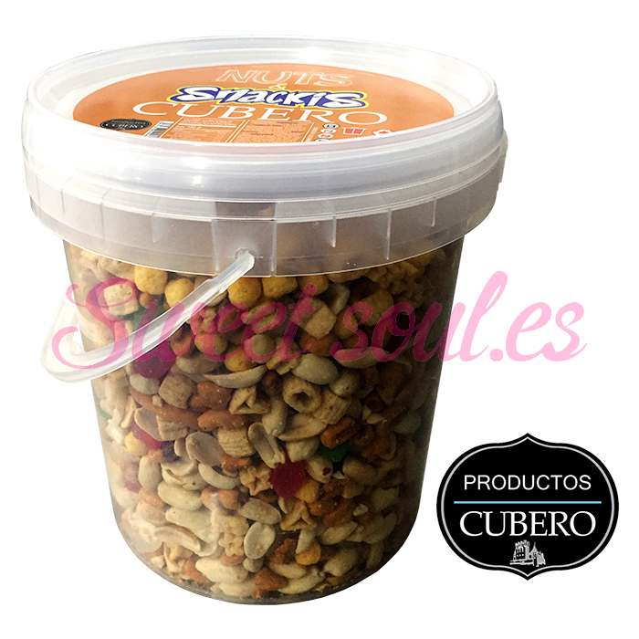 CUBO NUTS & SNACKIS CUBERO, 1200g