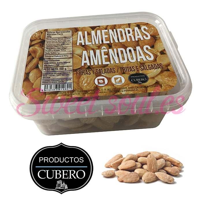 ALMENDRAS REPELADAS FRITAS CUBERO, 150g