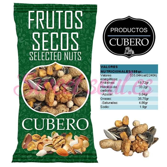 REVUELTO FRUTOS SECOS CUBERO, 500g