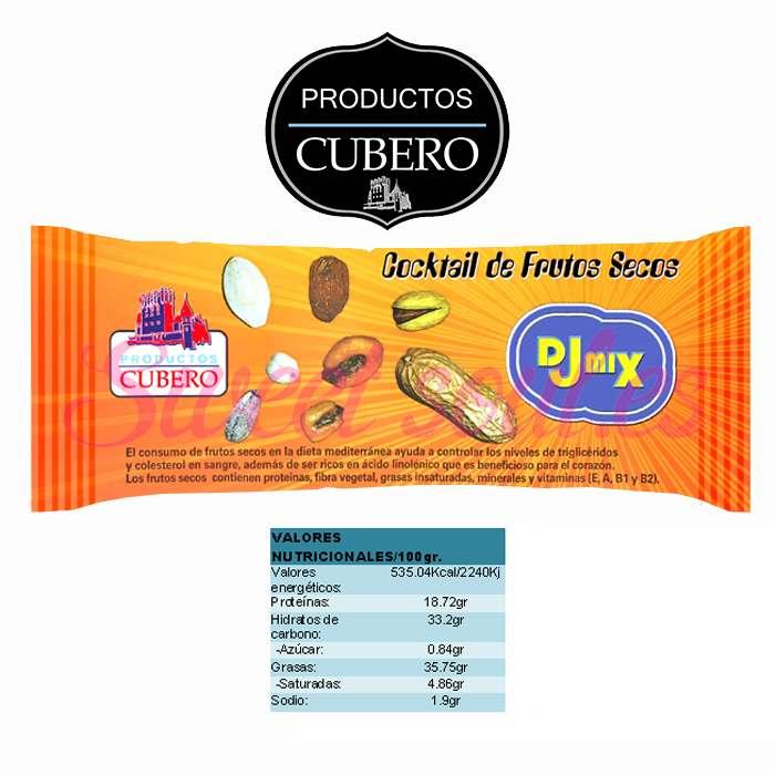 DJMIX CUBERO (MIX DE FRUTOS SECOS),15UNDSx50g