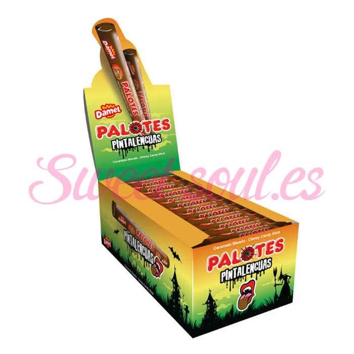 CAJA PALOTES DAMEL HALLOWEEN SABOR COLA, 200UNDS