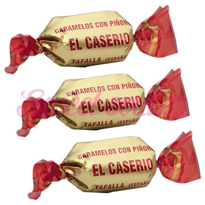 EL CASERIO, CARAMELO CON PIÑONES, 1kg
