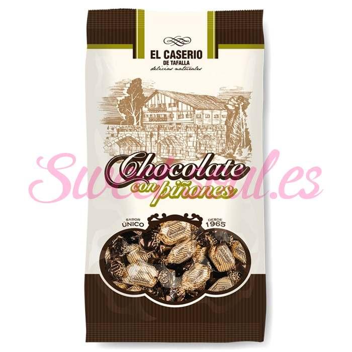 CHOCOLATE CON PIÑONES CASERIO KG.