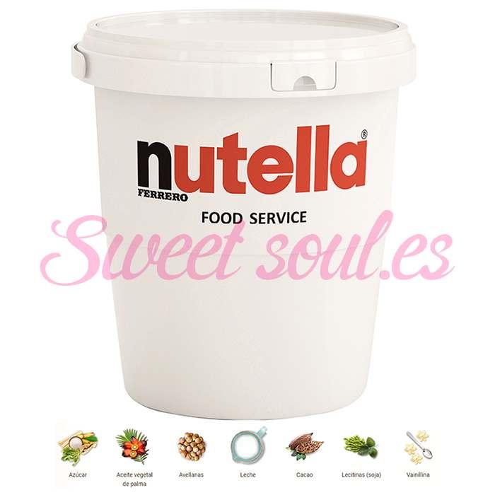 TARRO CREMA NUTELLA FERRERO FOOD SERVICE, 3kg