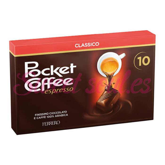 POCKET COFFEE, 10UNDS