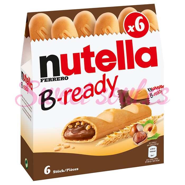 ESTUCHE DE NUTELLA B-READY FERRERO, 6UNDS