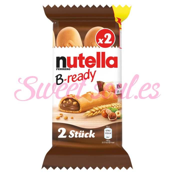ESTUCHE DE NUTELLA B-READY FERRERO T2, 8g