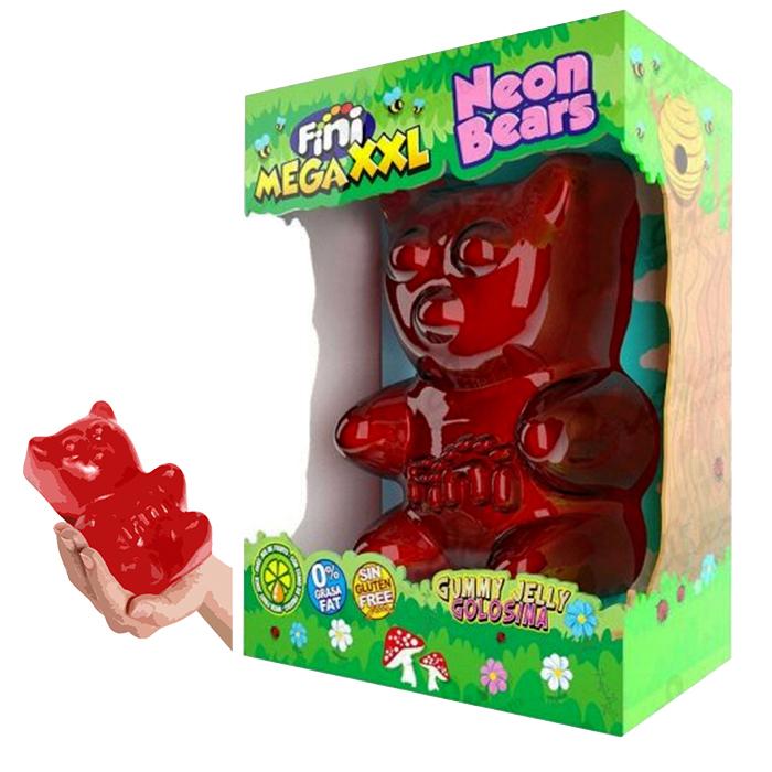 MEGA OSO FINI MEGA XXL NEON BEARS, 900g