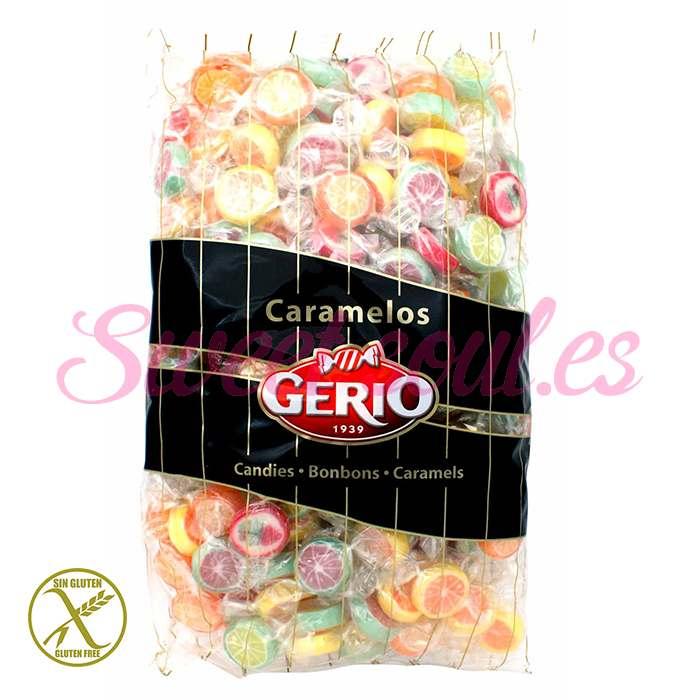 BOLSA DE CARAMELOS GERIO MINI ROCK'S SURTIDOS, 1kg