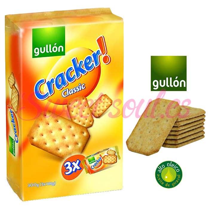 3-PACK GULLON CRACKER! CLASSIC, 300g (3UNDSx100g)